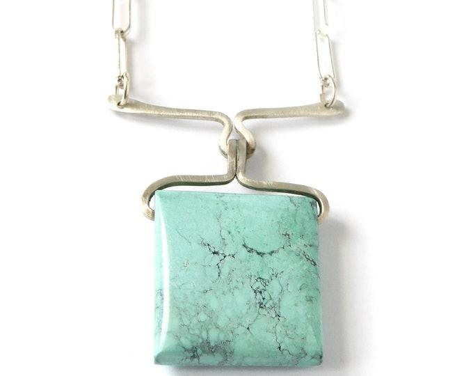 """""""Kelila"""" Turquoise Pendant Necklace"""