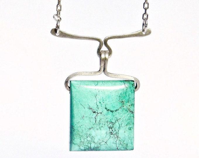 """Aqua Sky"" Turquoise Necklace"