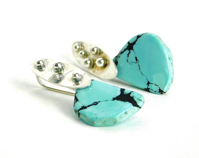 """""""Kelima"""" Turquoise Earrings"""