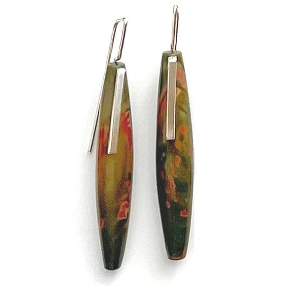 """""""Chandra"""" Creek Jasper Earrings"""