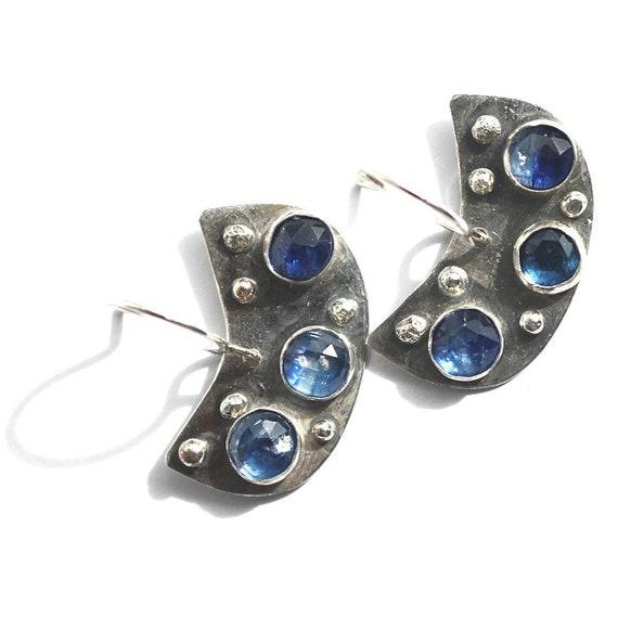 """""""Amina"""" Kyanite Earrings"""