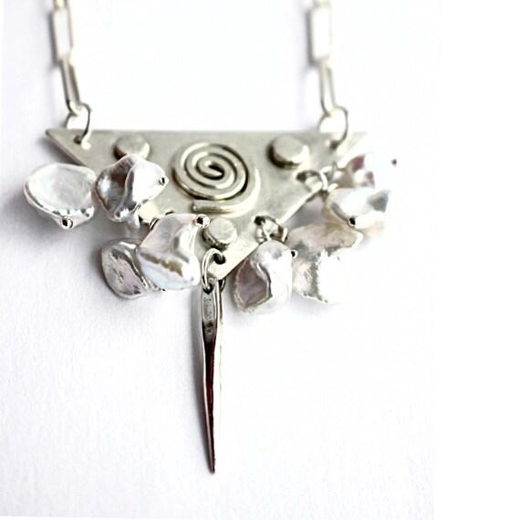 """Aerwyna"" Keishi Pearl Necklace"