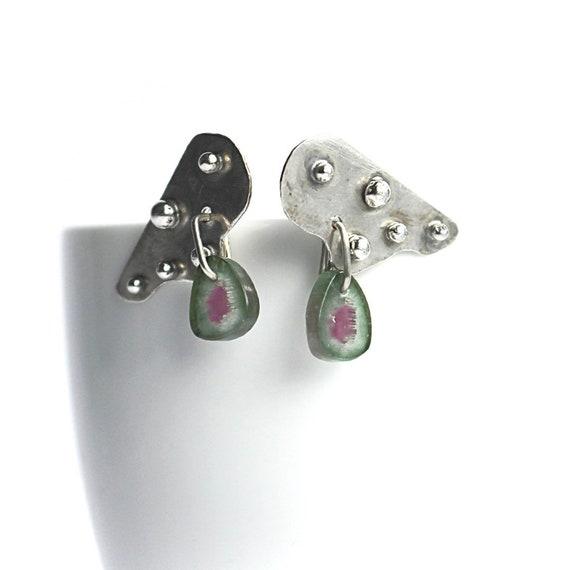 """""""Jolie"""" Pink Tourmaline Earrings"""