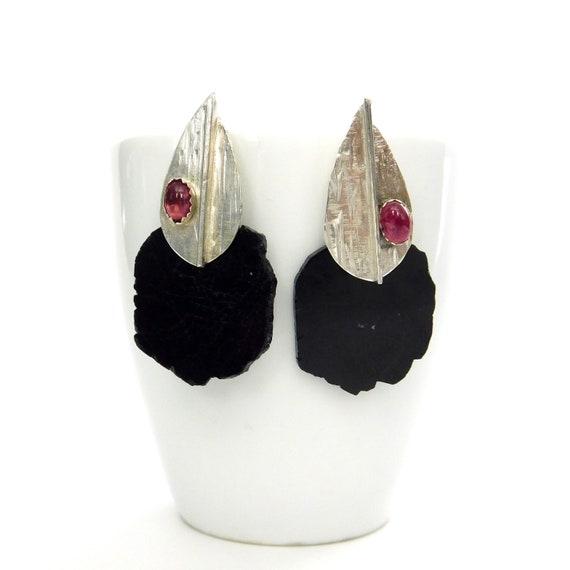 """""""Abiola"""" Tourmaline Earrings"""