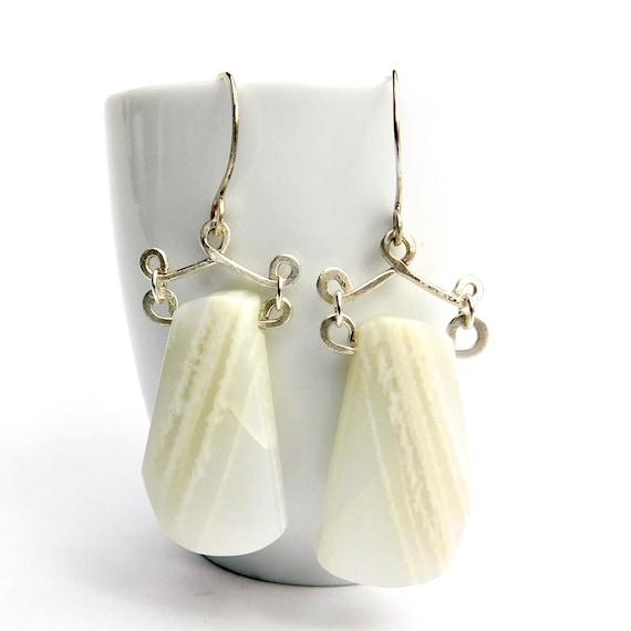 """""""Maera"""" Moonstone Earrings"""