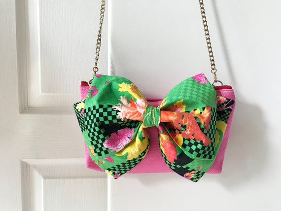 Noeud d'embrayage, sac de noeud, sac à main papillon, sac avec noeud, sac demoiselle d'honneur-mi