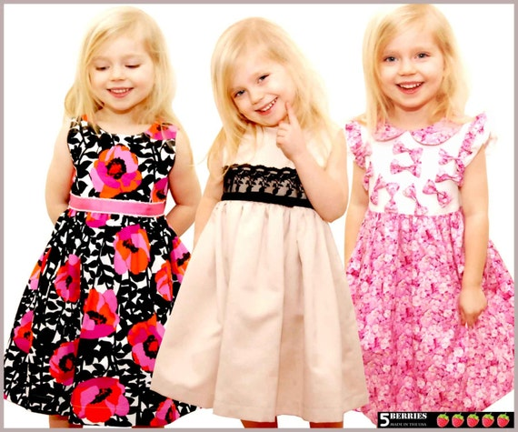 5 Berries Girls Dress Patterns Free Mother Daughter Apron