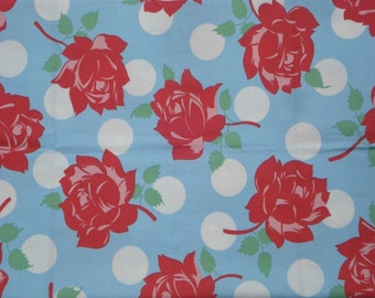 Roses Are Red Swell Urban Chiks Moda Fabric FQ or more