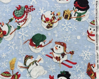 Alexander Henry fabric Some Like it Cold FQ