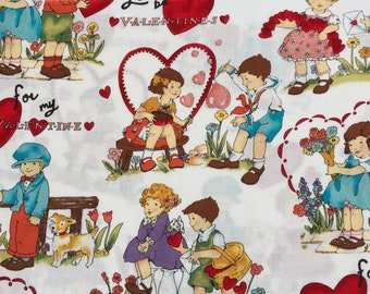 """Alexander Henry fabric """"for my valentine"""" Fat Quarter yard or more"""