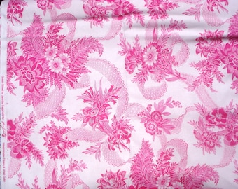 Queen Street Dolin fuchsia Jennifer Paganelli Sis Boom Free Spirit fabric FQ or more