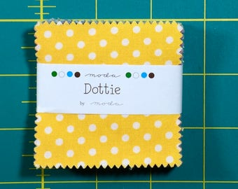 Dottie MINI Charm Pack moda fabrics oop htf