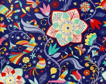 Daydream Kate Spain Arcadia ink moda fabrics FQ or more