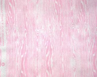 Aviary Joel Dewberry Woodgrain light pink shy FQ or more