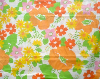 Dream On Summer Lovin' orange/white Urban Chiks moda fabric FQ or more
