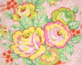 Rose Bouquet peach Heather Bailey Pop Garden Free Spirit Fabrics BTY