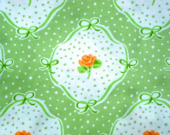 SALE : Urban Chiks Dream On flashback green moda fabric Fat Quarter or more