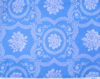 Casey Scroll periwinkle Jennifer Paganelli Sis Boom Basics Free Spirit fabric FQ or more