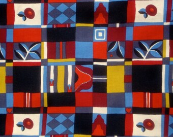 SALE : Albers Patchwork Alexander Henry fabric FQ or more