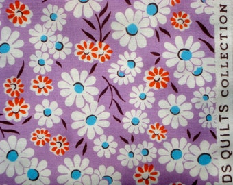Croquet floral purple DS Quilts Denyse Schmidt fabric  FQ or more