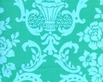 Pretty Please Amanda Fleur green Jennifer Paganelli Free Spirit fabric FQ or more