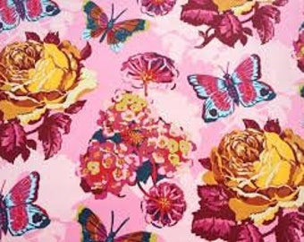 """Clippings amethyst Velveteen Anna Maria Horner Loulouthi By the Fat Quarter Yard 18"""" x 28"""" or more"""