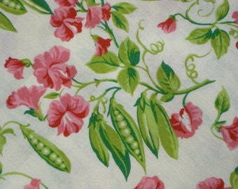 American Jane Peas and Carrots Sweet Pea on cream moda fabrics FQ or more
