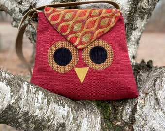 Owl Purse Crossbody Bag