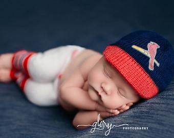 Baseball outfit for newborn boy