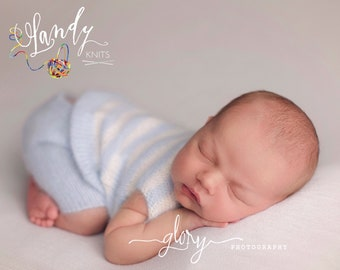 Baby boy outfit, shorts and sweater, angora knit, newborn photo prop, photo prop, photography prop, baby boy knit, newborn boy, boy photo