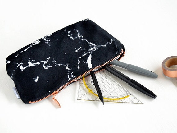 Marble Bag Pencil Case Marble Makeup Bag Pouch Case