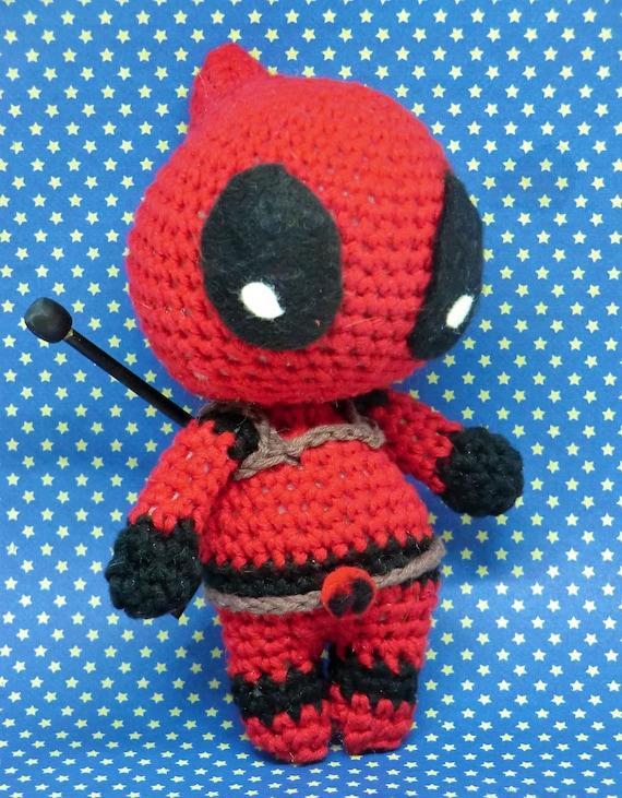 Amigurumi Deadpool by Amigurumi Torino | Crochet patterns, Crochet ... | 731x570