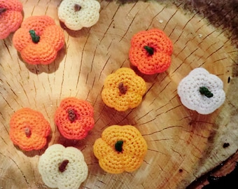 amigurumi pumpkins two sizes PDF crochet pattern