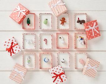 micro crochet christmas collection 24 pdf crochet patterns - Advent calendar full set of 24 patterns