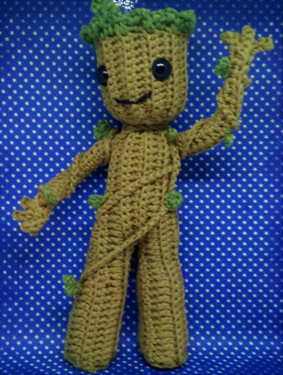 Groot » 53stitches » Free Amigurumi and Crochet Patterns and Tutorials | 755x570