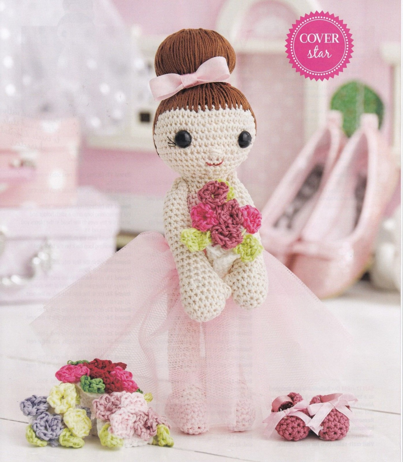 The Cutest Collection of Amigurumi Ballerina Dolls | 1822x1588
