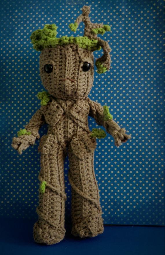 Teenage Groot Amigurumi Pdf Crochet Pattern Inspired By Etsy