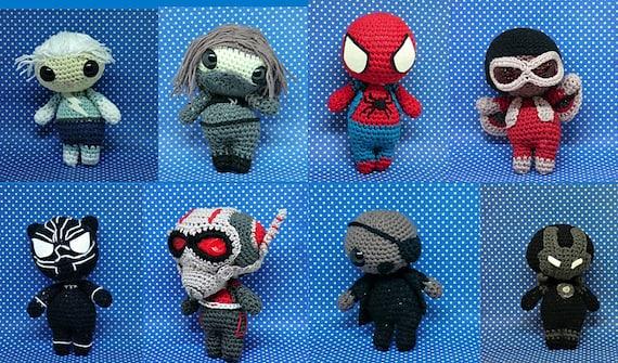 Spiderman in versione Amigurumi - Creazioni Rita C. ...Only Handmade! | 335x570