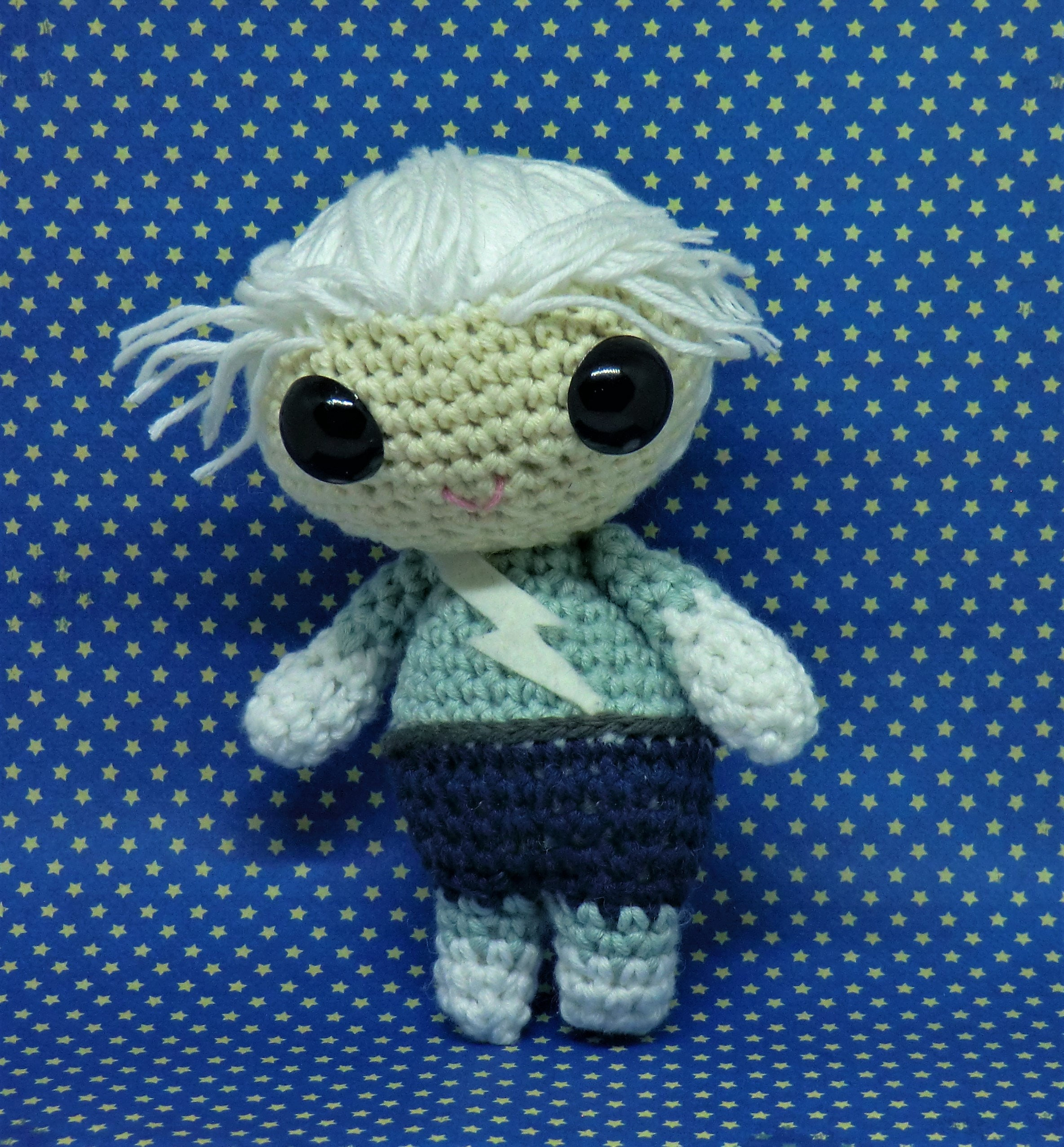 Quicksilver Amigurumi Style Pdf Crochet Pattern Inspired By Etsy