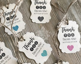 50 Kraft Tags with twine - Gift Tags Favor Tags - Rustic Tags Kraft Tags - Rustic Wedding Favor Tags - Rustic Wedding Kraft Tags
