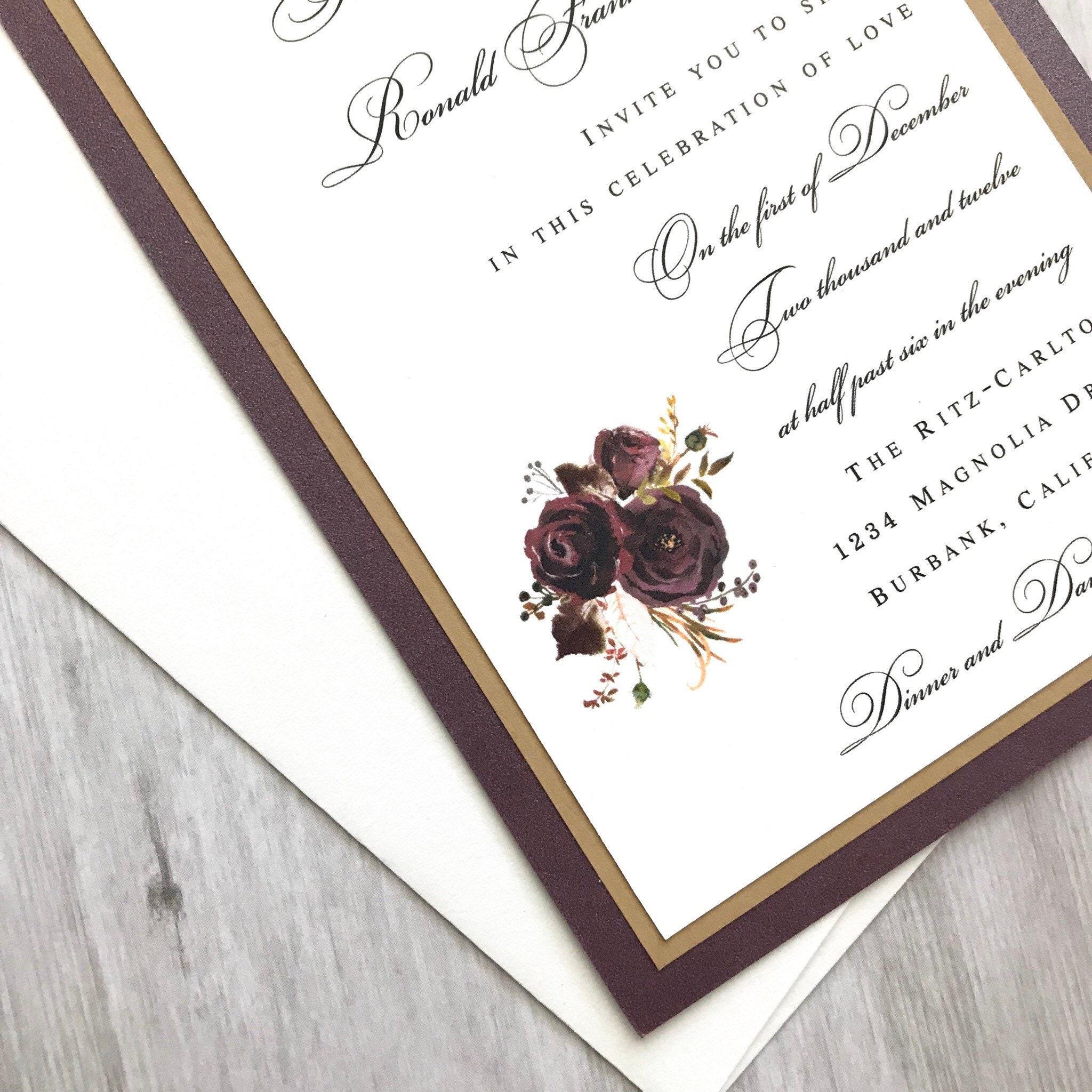 50: Inexpensive Fall Wedding Invitations At Websimilar.org