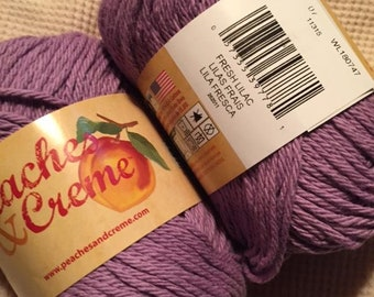 Peach yarn lot | Etsy