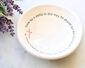 Mother's Day Gift, Teacher Thank You Gift, Ring Holder, Rosary Holder