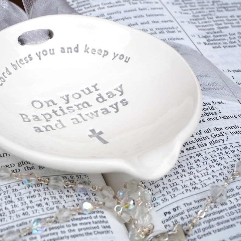 Ready to Ship Baptism Bowl™ Ceramic Bowl for Pouring image 0