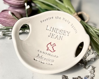Confirmation Gifts for Girls | Girls Confirmation Gifts | Gift from Godparent | Confirmation Gift for girl from Parents | Confirmation Bowl