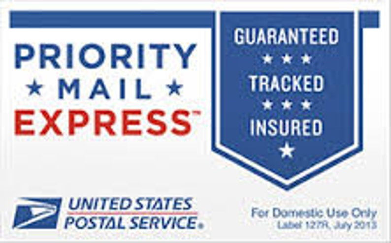USPS Priority Mail Express upgrade 1-2 day delivery image 0