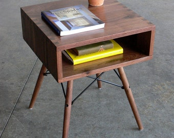 Custom Listing-Mid Century Modern Inspired Side Table