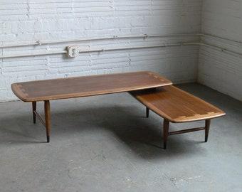 "Mid Century Modern Lane Acclaim ""Switchblade"" Coffee Table"