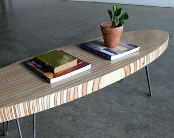 Mid Century Modern Eames Inspired Coffee Table