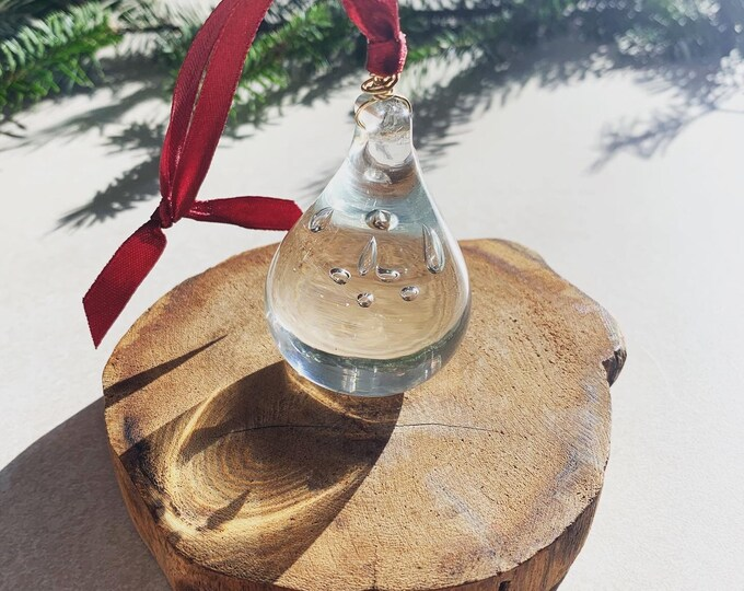 Vintage Glass Ornament
